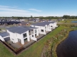 Prestons townhouses - aerial view